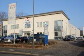 G.U.T. Glaser – Bürogebäude mit Halle