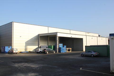 Kraftverkehr Nagel – Bürogebäude und Logistikhallen