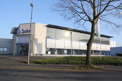 Zander – Bürogebäude mit Lager- und Verkaufshalle