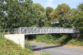 Neubau Geh- und Radweg Brücke über dem Westring